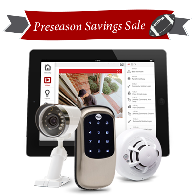 Free Outdoor Wireless HD Camera and Touchscreen Door Lock